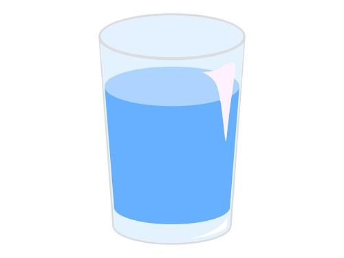 食事中の水は太るの?