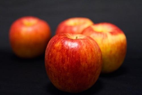 リンゴとバナナの消化