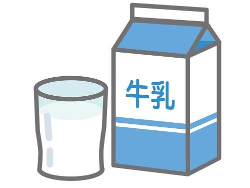 牛乳とスキムミルク