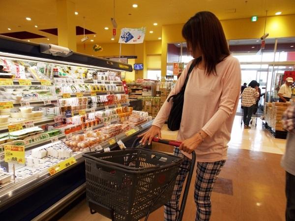 スーパー店内